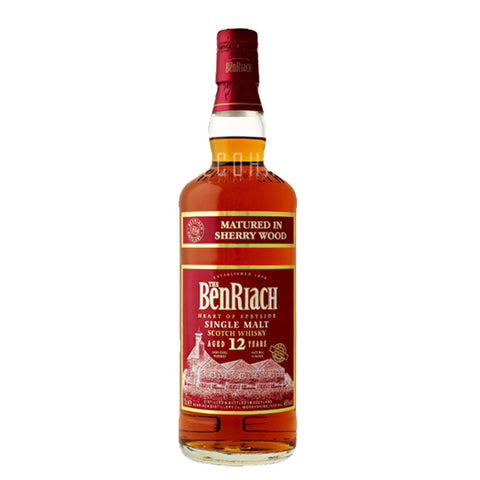 Benriach 12yrs Sherry Wood 700ml