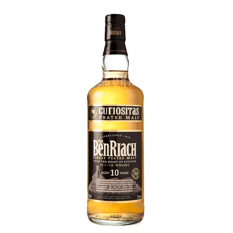 Benriach Curiositas 10yrs Peated 700ml
