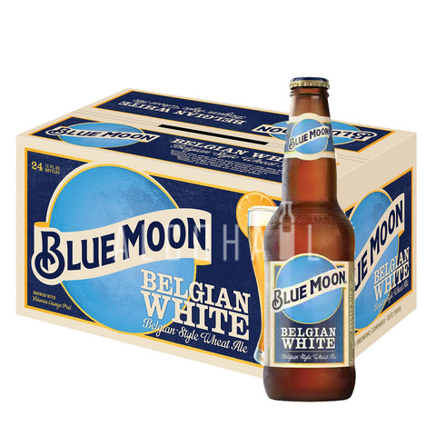 Blue Moon Belgian White Beer - Case 24 x 330ml