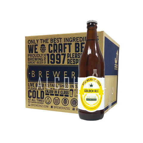 Brewerkz Golden Ale - Case 12 x 500ml