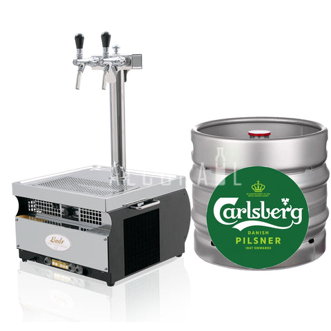 Carlsberg Beer Keg 22 Litre [Mobile Bar Dispenser Chargeable]