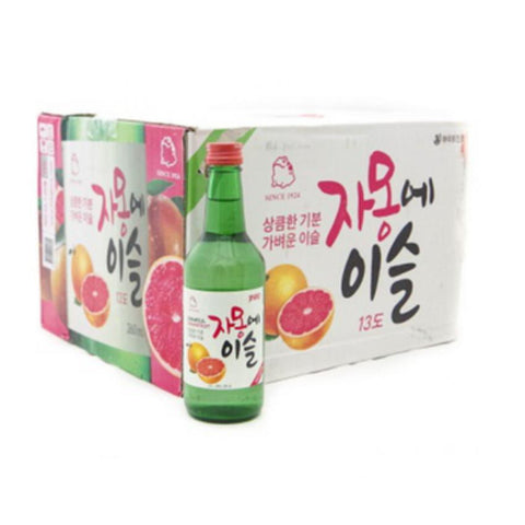 Chamisul Grapefruit Soju - Case 20 X 360ML