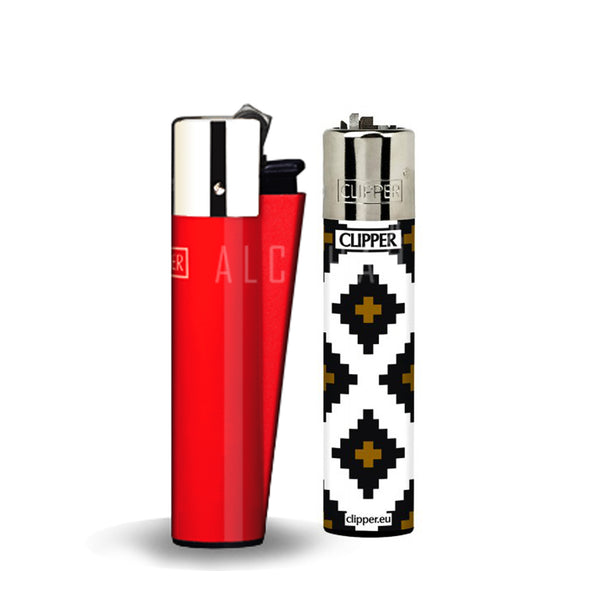 Clipper Lighter (Solid Color / Geometric)