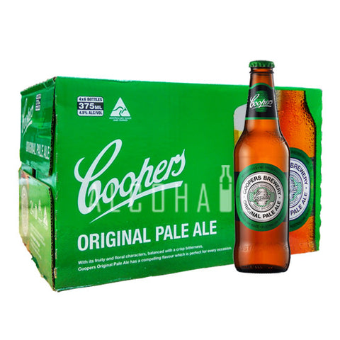 Coopers Original Pale Ale - Case 24 x 375ml