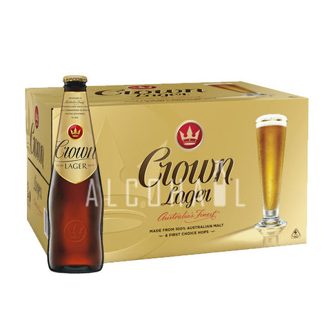 Crown Lager - Case 24 x 330ml