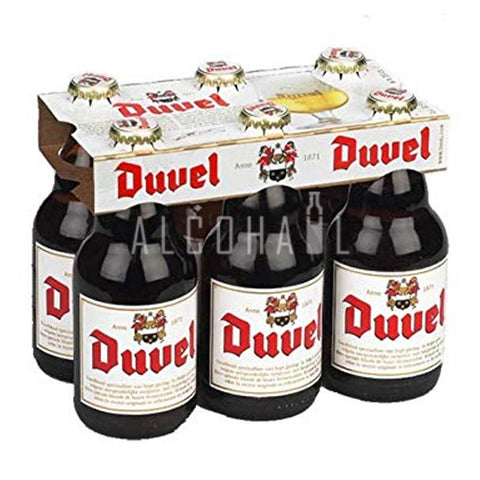 Duvel Belgium Beer - Pack 6 x 330ml