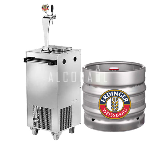 Erdinger Weissbier Beer Keg 30 Litre [Mobile Bar Dispenser Chargeable]