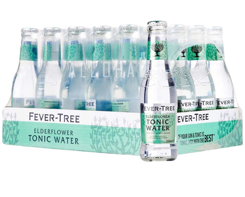 Fever Tree Premium Elderflower Tonic - Case 24 x 200ml