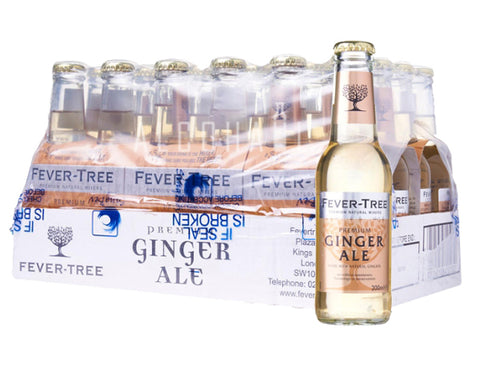 Fever Tree Premium Ginger Ale - Case 24 x 200ml