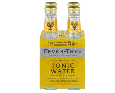 Fever Tree Premium Indian Tonic - Pack 4 x 200ml