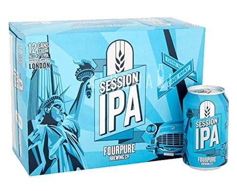 Fourpure Session IPA - Case 24 x 330ml