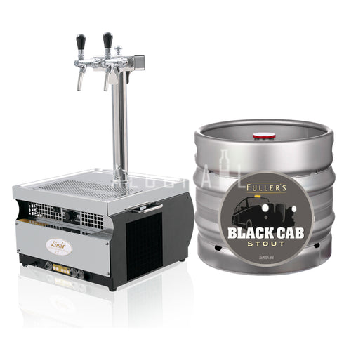 Fuller's Black Cab Stout 30 Litre [Mobile Bar Dispenser Chargeable]