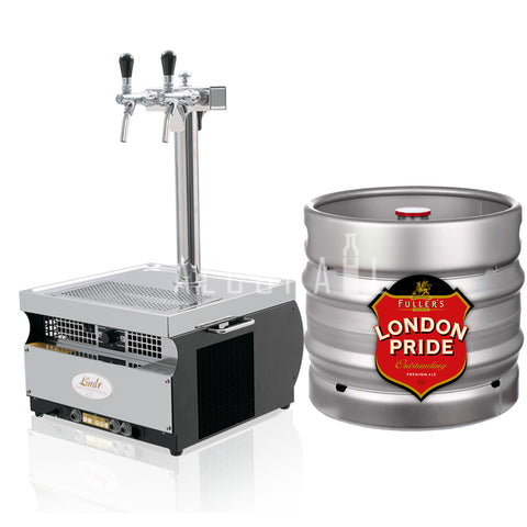 Fuller's London Pride Pride Draft Beer Keg 30 Litre [Mobile Bar Dispenser Chargeable]