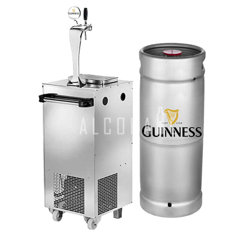Guinness Draught Beer Keg 20 Litre [Mobile Bar Dispenser Chargeable]