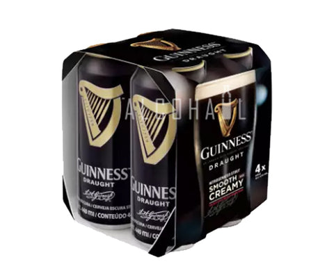 Guinness Draught Beer - Pack 4 x 440ml
