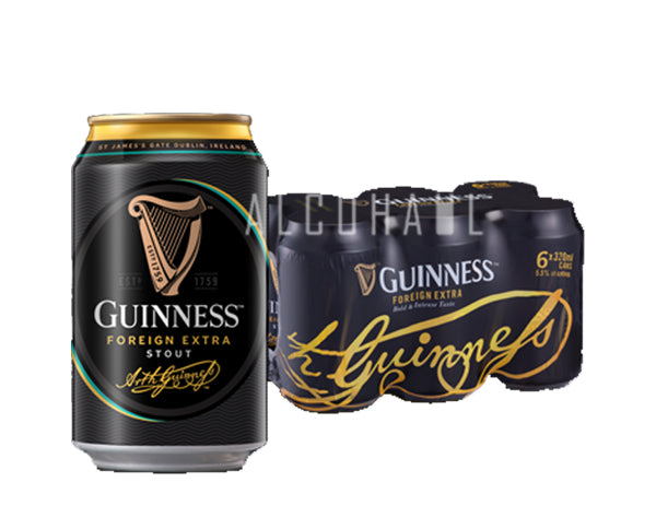 Guinness Stout - Pack 6 x 320ml