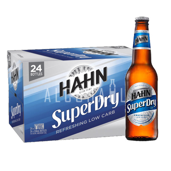Hahn Super Dry - Case 24 x 330ml