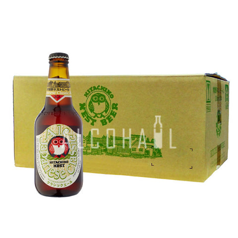 Hitachino Nest Japanese Classic Ale - Case 24 x 330ml