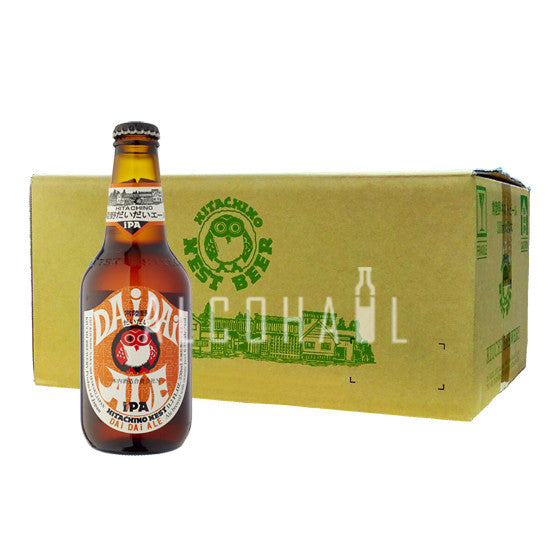 Hitachino Nest Dai Mandarin IPA - Case 24 x 330ml
