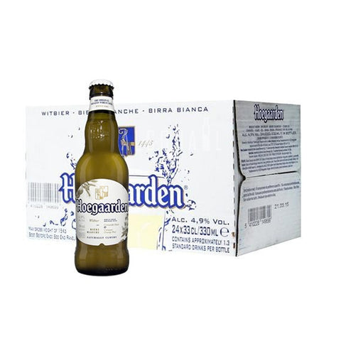 Hoegaarden White Beer - Case 24 x 330ml