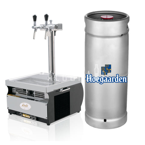 Hoegaarden White Beer Keg 20 Litre [Mobile Bar Dispenser Chargeable]