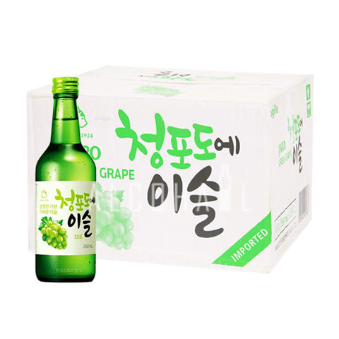 Chamisul Jinro Green Grape Soju - Case 20 X 360ml