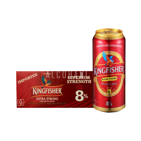 Kingfisher Premium Extra Strong - Case 24 x 500ml