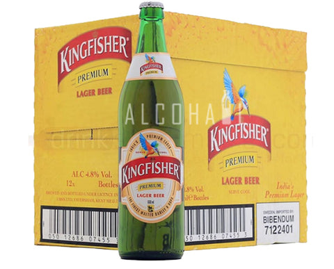 Kingfisher Premium Lager - Case 12 x 650ml