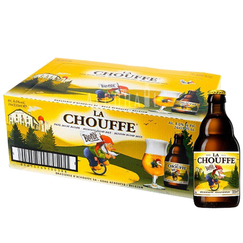 La Chouffe Beer - Case 24 x 330ml