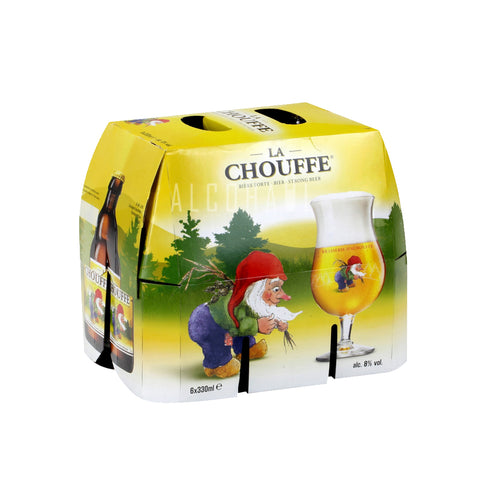 La Chouffe Beer - Pack 6 x 330ml