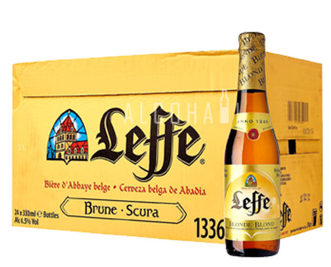Leffe Blonde Beer - Case 24 x 330ml
