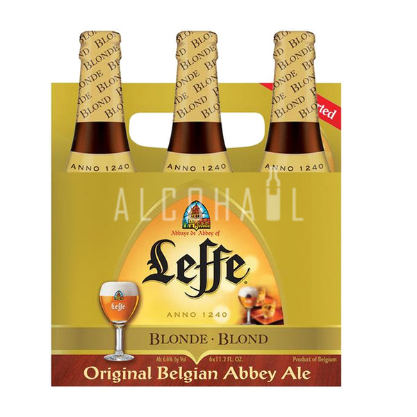 Leffe Blonde Beer - Pack 6 x 330ml