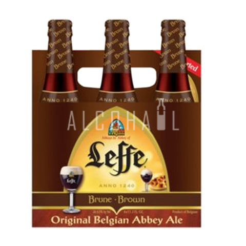 Leffe Brune Dark Beer - Pack 6 x 330ml