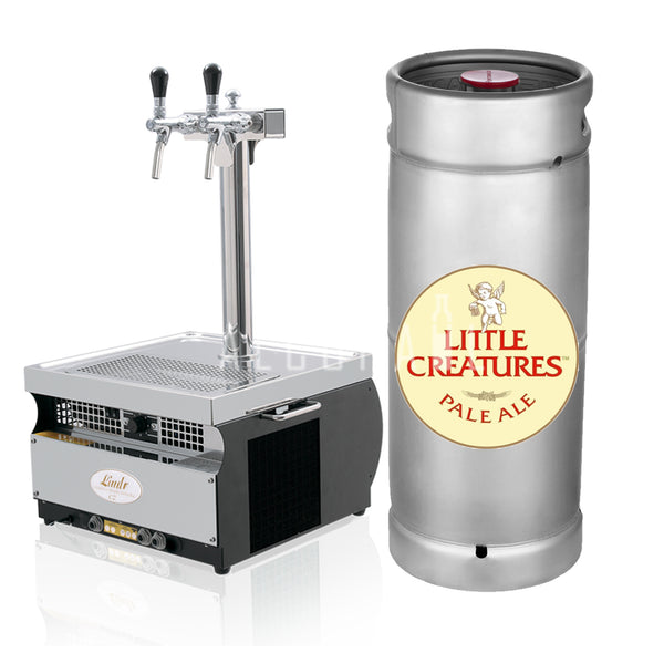 Little Creatures Pale Ale Beer Keg 30 Litre [Mobile Bar Dispenser Chargeable]