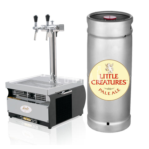 Little Creatures Pale Ale Beer Keg 20 Litre [Mobile Bar Dispenser Chargeable]