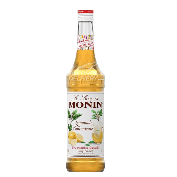 Monin Lemonade Concentrate Syrup 750ml
