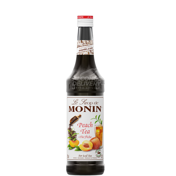 Monin Peach Tea Syrup 750ml