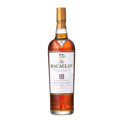Macallan 18 Years Sherry Oak 700ml (2017 Release)