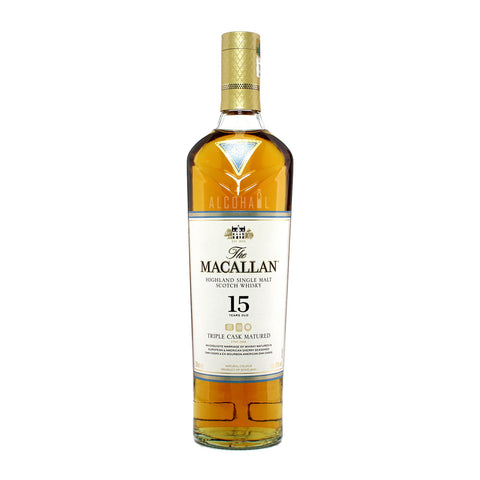 Macallan 15yrs Triple Cask Fine Oak Matured 700ml