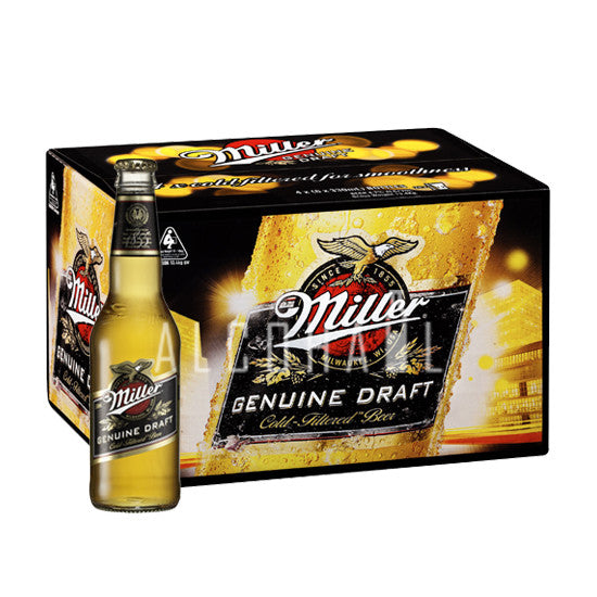 Miller Genuine Draft - Case 24 x 355ml