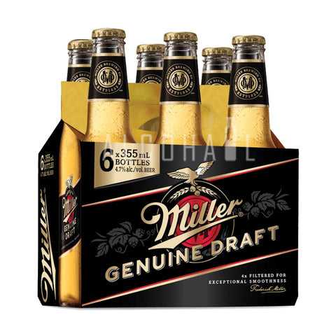 Miller Genuine Draft - Pack 6 x 355ml