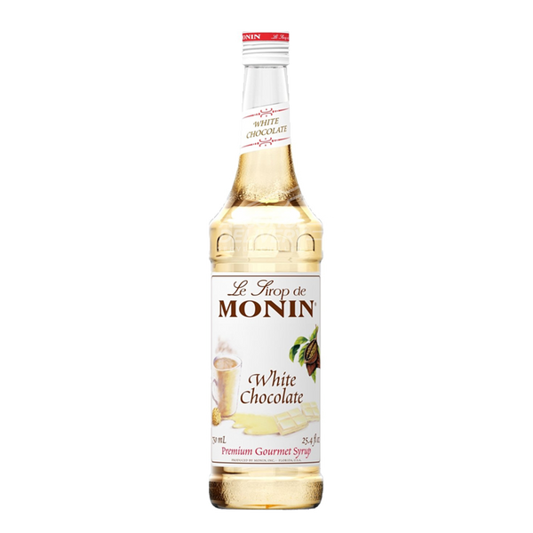Monin White Chocolate Syrup 750ml