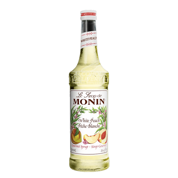 Monin White Peach Syrup 750ml