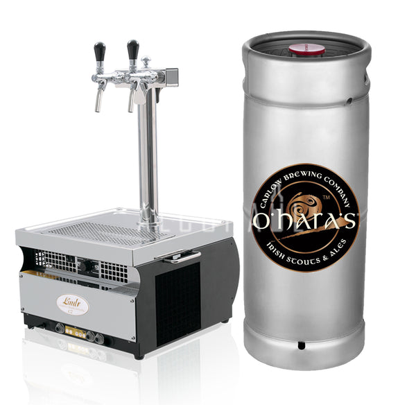 O'Hara's Irish Stout Beer Keg 30 Litre [Mobile Bar Dispenser Chargeable]