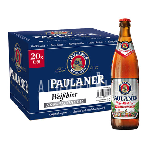 Paulaner Alcohol Free - Case 20 x 500ml