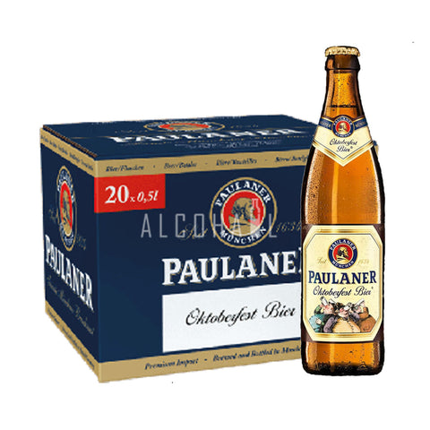 Paulaner Oktoberfest Beer - Case 20 x 500ml