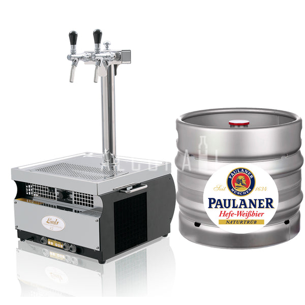 Paulaner Weissbier Beer Keg 30 Litre [Mobile Bar Dispenser Chargeable]