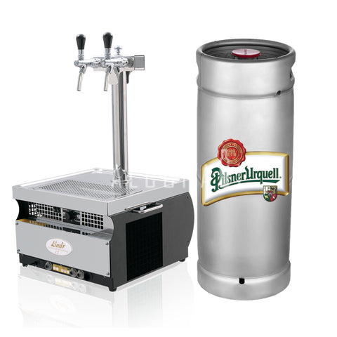 Pilsner Urquell Beer Keg 15 Litre [Mobile Bar Dispenser Chargeable]