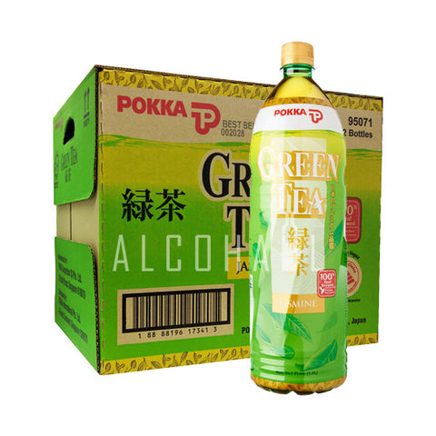 Pokka Green Tea - Case 12 x 1.5L
