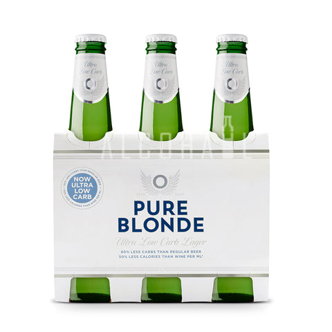Pure Blonde Ultra Low Carb Beer - Pack 6 x 355ml